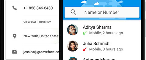 how to activate live caller id on truecaller android