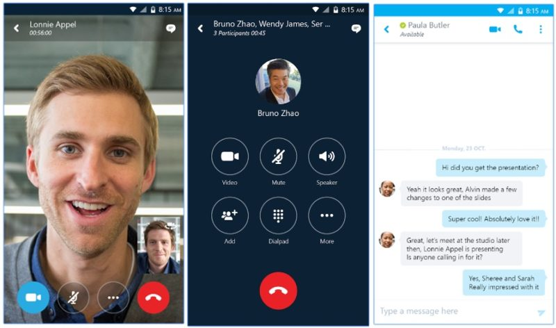 skype for business download