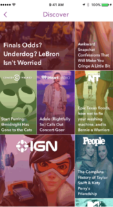 new snapchat discover