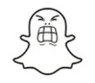 snapchat ghost angry