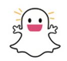 snapchat ghost joyful