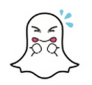 snapchat ghost with spec
