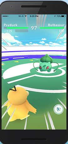 pokemon gym battle
