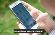 Pokemon Go CP Chart