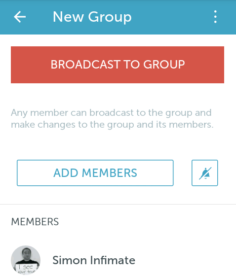Periscope group members