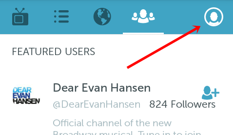 Periscope profile icon
