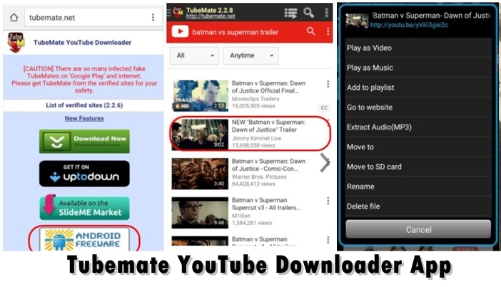 Tubemate YouTube Downloader App