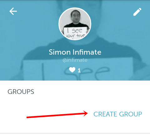periscope create group