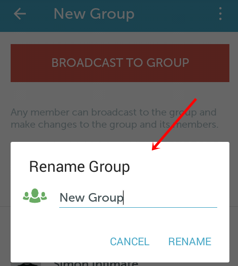 rename periscope group
