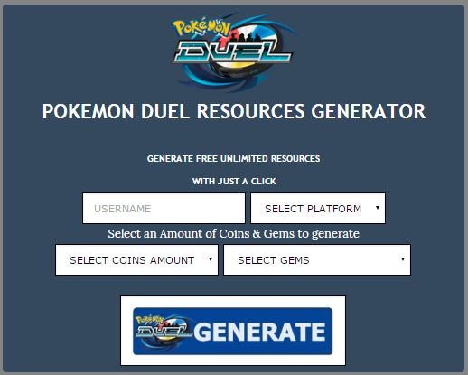 Pokemon Duel Hacks