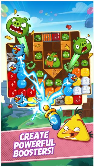 angry birds blast boosters