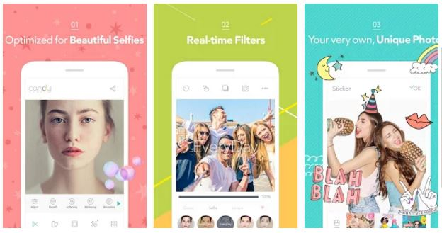 Candy Camera - Selfie Photo app
