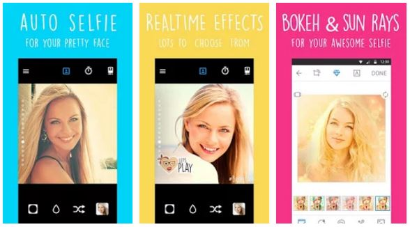 Selfie Camera for Facebook app