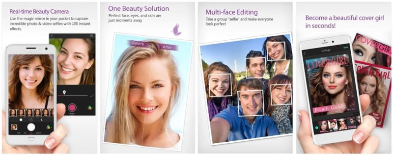 YouCam Perfect - Selfie Camera app