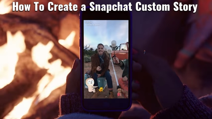 hubspot how to create a snapchat story