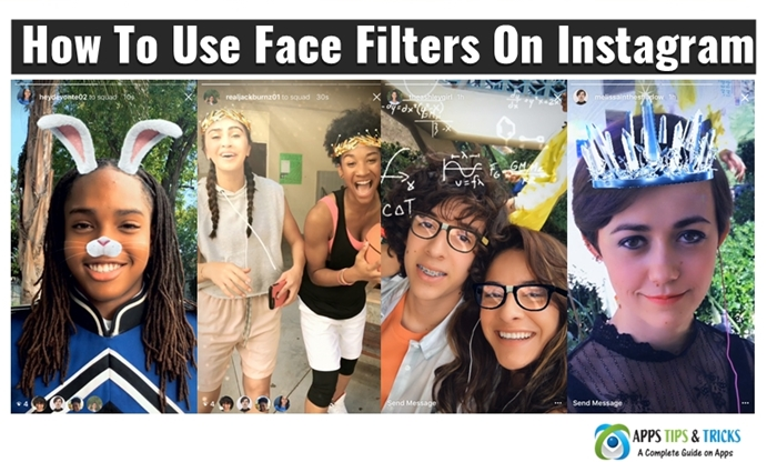 How To Use Face Filters On Instagram