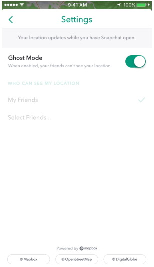 How to Turn Off Snap Map on Snapchat