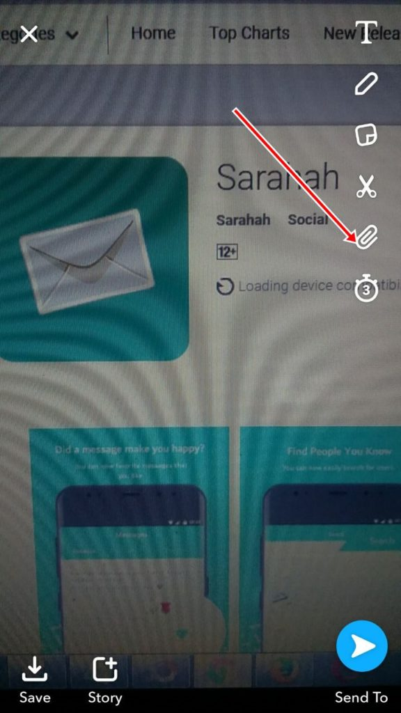 How to Use Sarahah on Snapchat