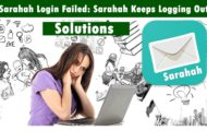 Sarahah Login Failed: Sarahah Keeps Logging Out & Sarahah Crashes Fix