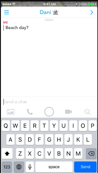 snap map search option