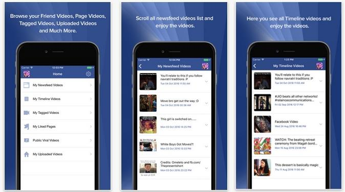 Video Downloader for Facebook (iPhone)