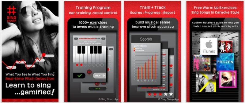 Sing Sharp Learn to Sing app