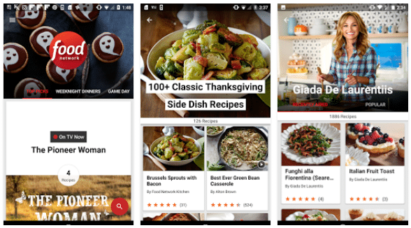 Food Network in the Kitchen app