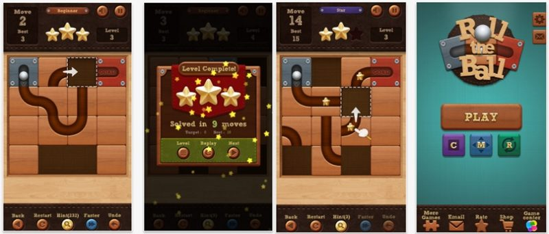 Roll the Ball™ – slide puzzle app