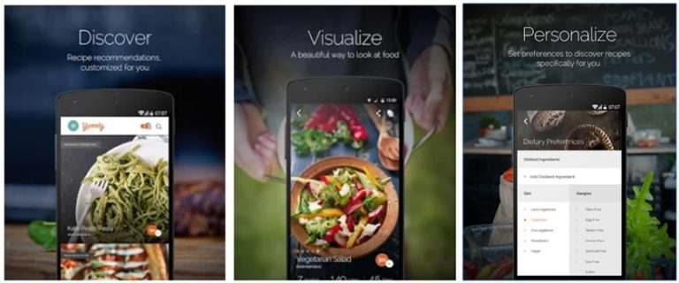 Best cooking apps 2018 for android and iphone your healthy insider knowing this yummly app has solved for you you can still have a delicious and tasty food if you are on a diet also it is good for those having allergy forumfinder Gallery