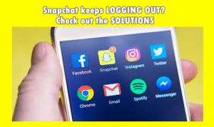 Snapchat keeps logging me out? Check out the solutions here