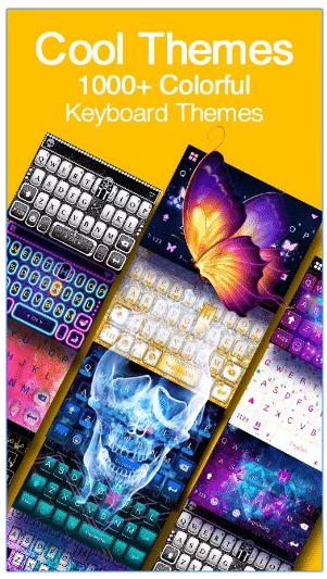 kika keyboard themes download